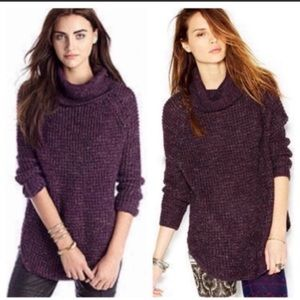 Free People Tweedy Dylan Sweater Size M